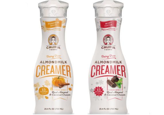 Seasonal Non-Dairy Creamers