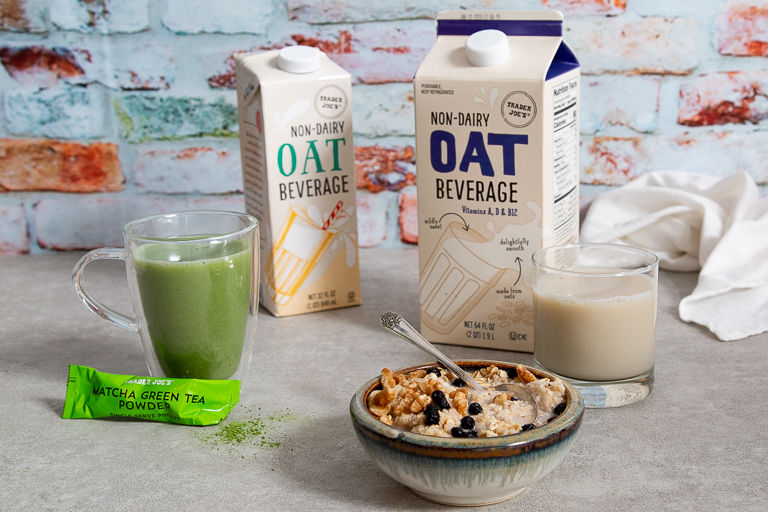 Subtly Sweet Oat Milks