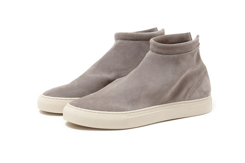 Streamlined Suede Sneakers