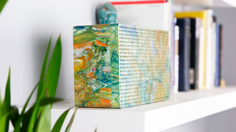 Stunning Upcycled Portable Speakers
