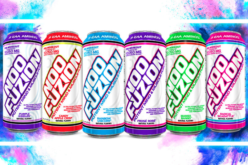 Carbonated Pre-Workout Drinks