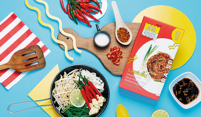 Vibrant Noodle Packaging