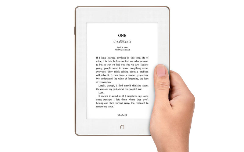 Waterproof Aluminum E-Readers