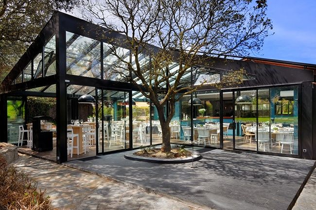 Greenhouse-Inspired Restaurants