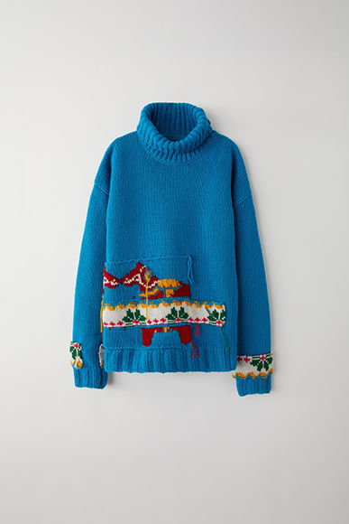 Colourful Cozy Hand-Knit Sweaters