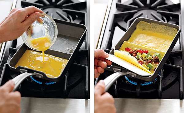 Easy Egg Cookware Nordic Ware Rolled Omelette Pan