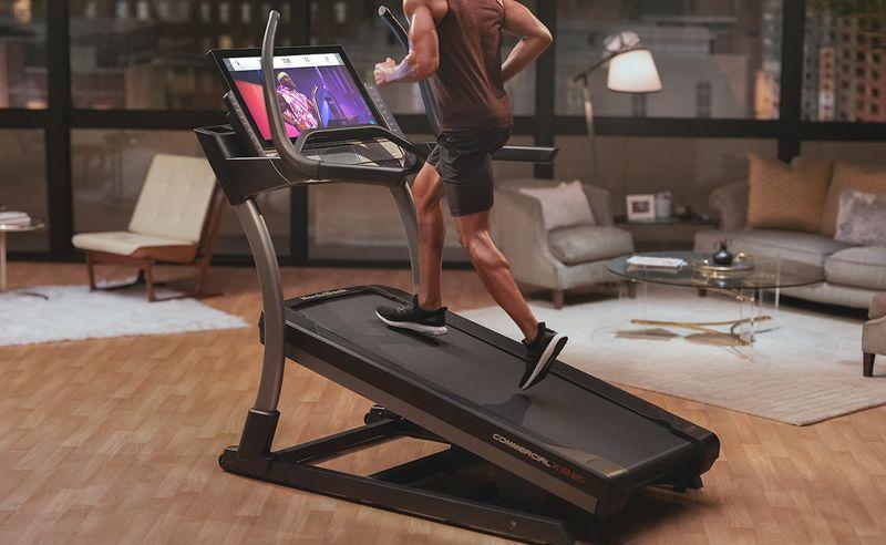 Interactive Digital Trainer Treadmills