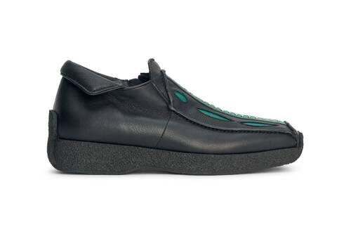 Retro Futuristic Sleek Footwear