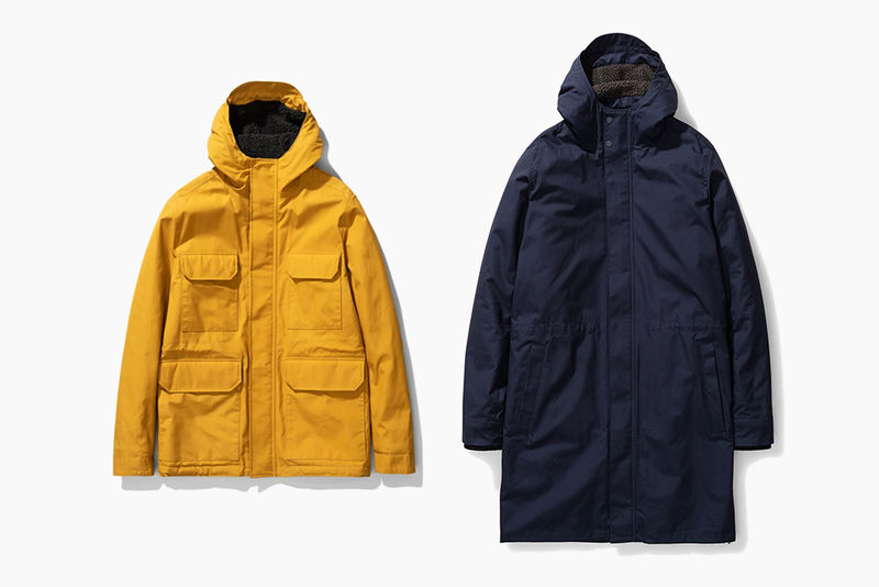 Refined Winter-Ready Parkas
