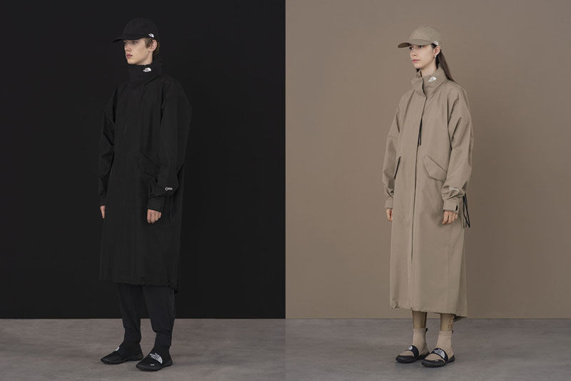 Neutral-Toned Layered Apparel
