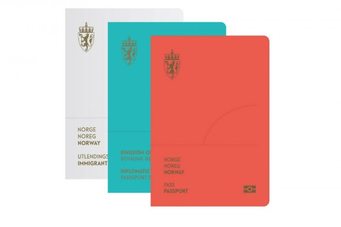 Contemporary Norwegian Passports