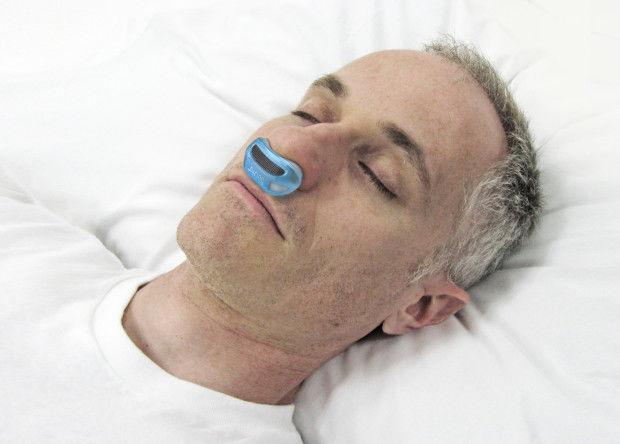 Snore-Preventing Nose Plugs