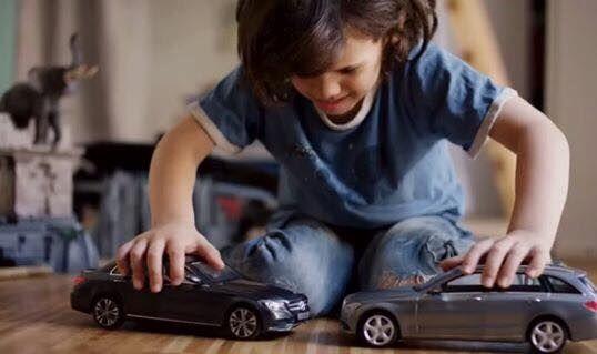 Toy Car Crashing Ads Not Collide