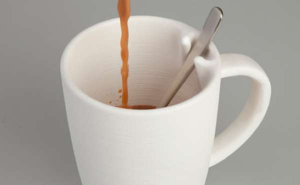 Cutlery-Clutching Cups