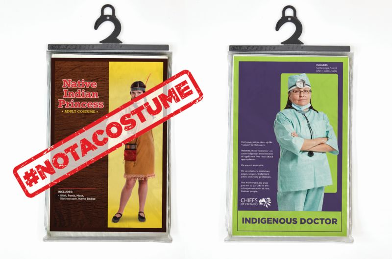 Anti-Racist Costume Campaigns