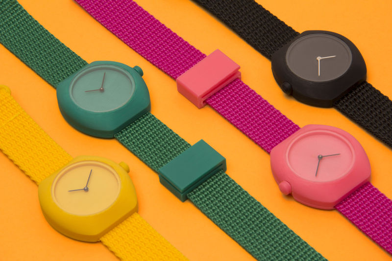 3D-Printed Swiss Wristwatches