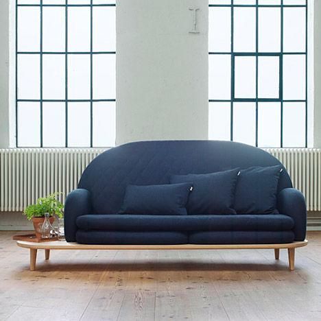 End Table-Equipped Sofas