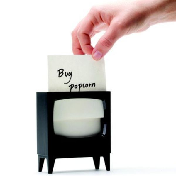 Tiny TV Note Holders