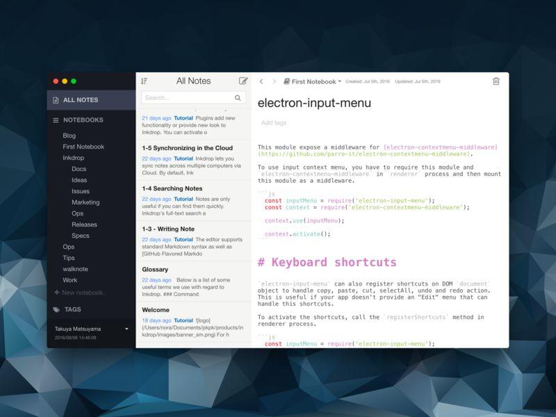 Hacker Notebook Apps
