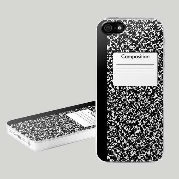 composition notebook classic composition phone covers notebook phone case