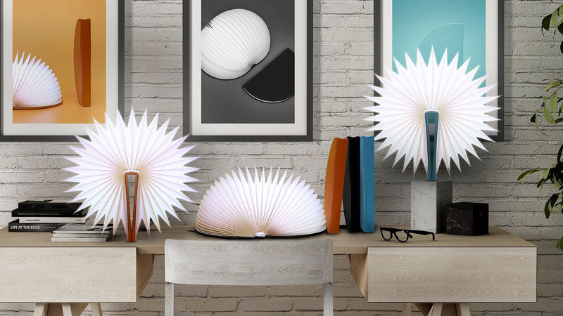 Accordion Accent Lamps