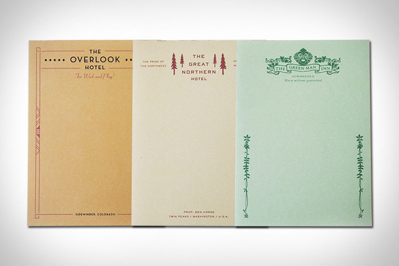 Movie Hotel Notepads