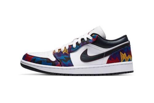 Bold Patterning Basketball Shoes