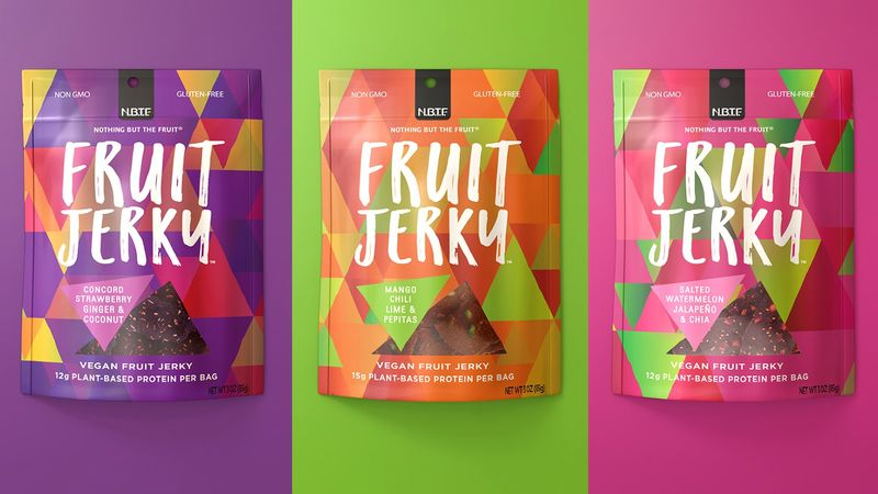 Sweet Fruit Jerky Snacks
