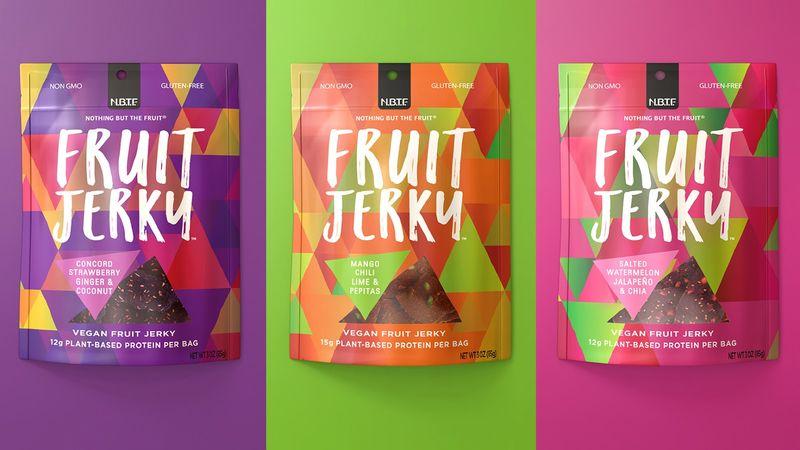 Sweet Fruit Jerky Snacks