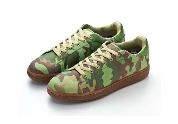 Low-Cut Camo Kicks
