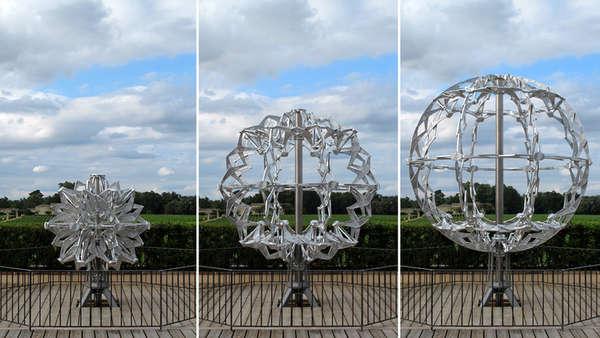 Giant Aluminium Spheres