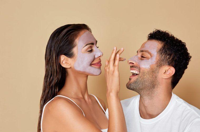 Crystal-Infused Skincare Masks