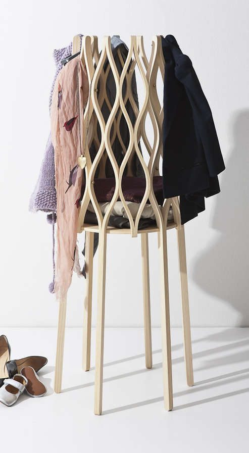 Stilted Hamper Hangers