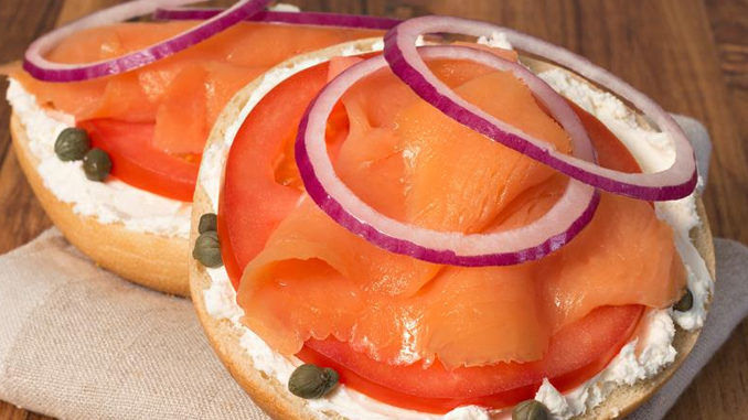 Cold-Smoked Salmon Sandwiches