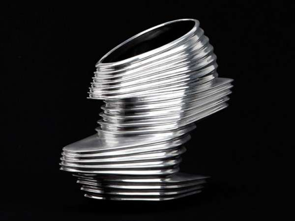 Futuristic Slinky-Inspired Shoes