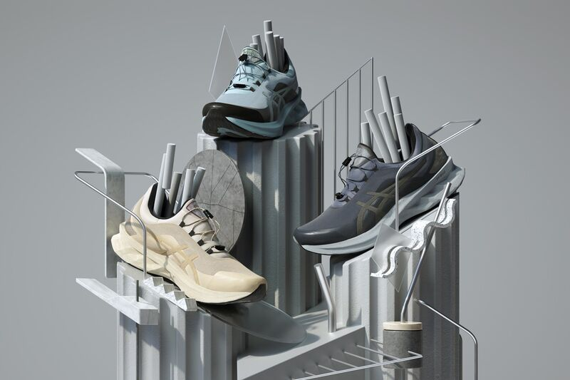 Futuristic Performance Running Shoes