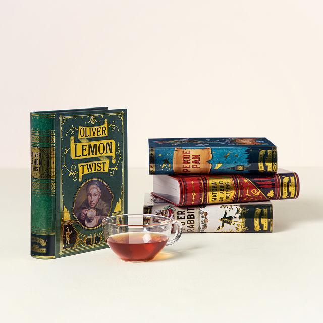 Novel Tea Book Tins