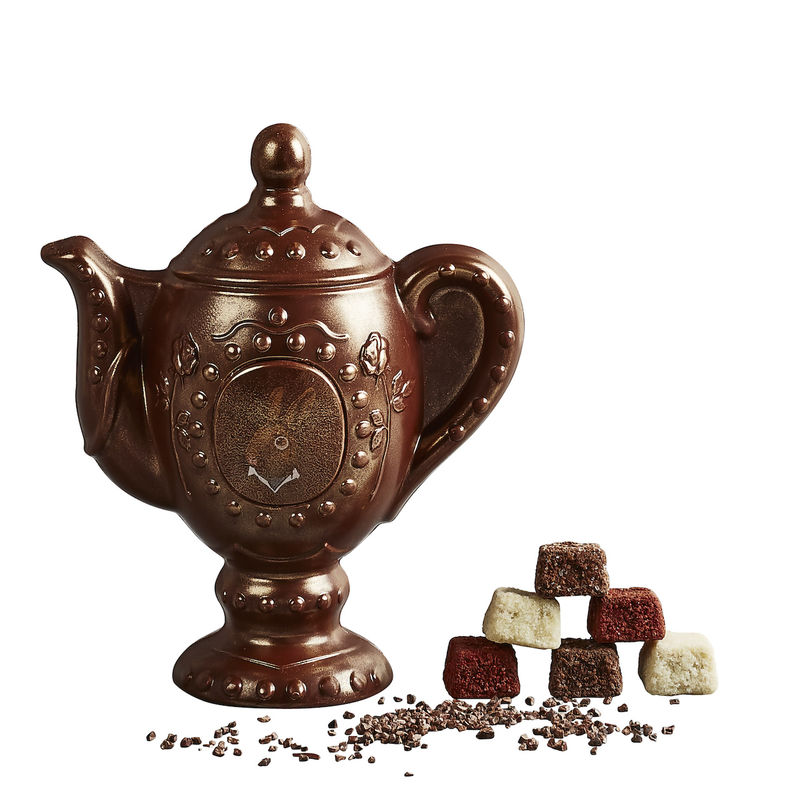Teapot-Shaped Easter Chocolates