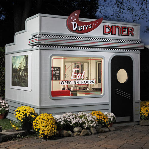 Diner-Inspired Playhouses