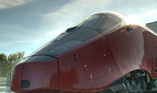 Ferrari-Designed Trains