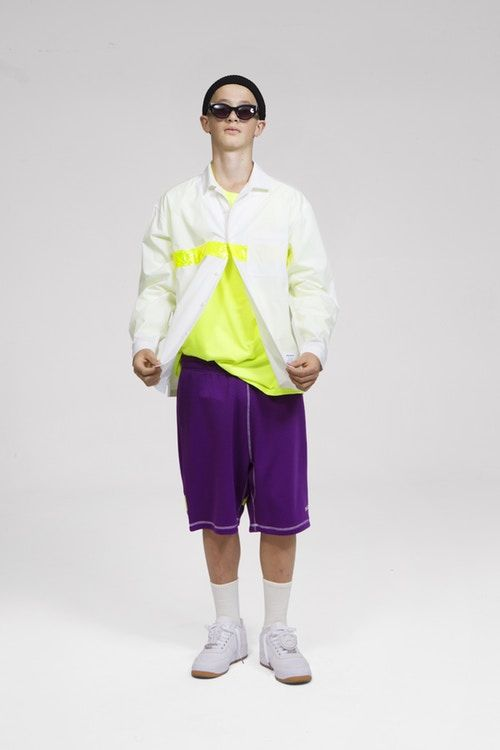 Neon-Accented Spring Apparel