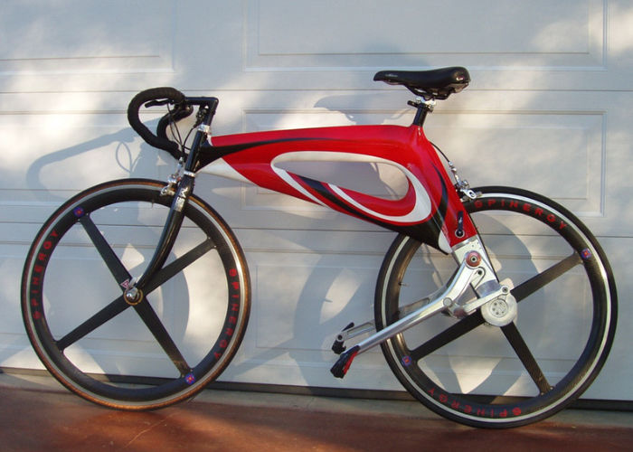 Efficient Chain-Free Bicycles