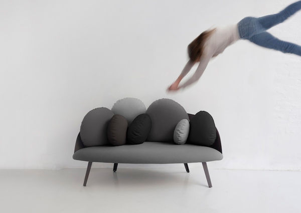 Cloud-Resembling Sofas