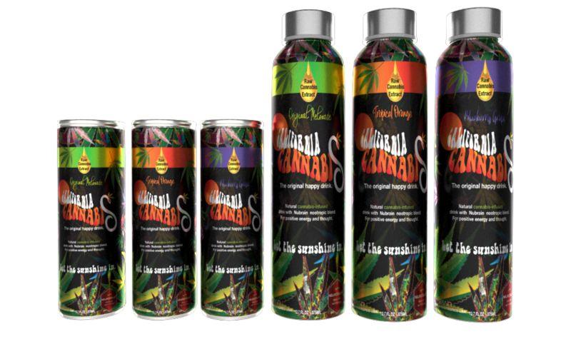 Raw Organic Cannabis Drinks