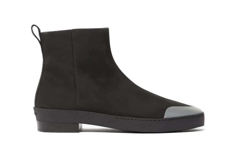 Nubuck Leather Chelsea Boots