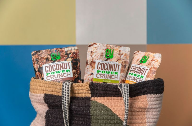 Crunchy Coconut Snacks