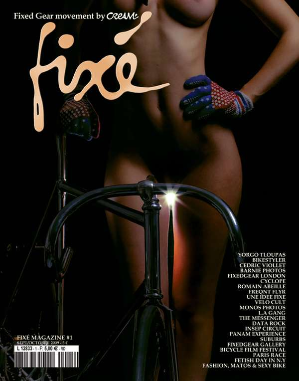 Nude Cyclist Covers