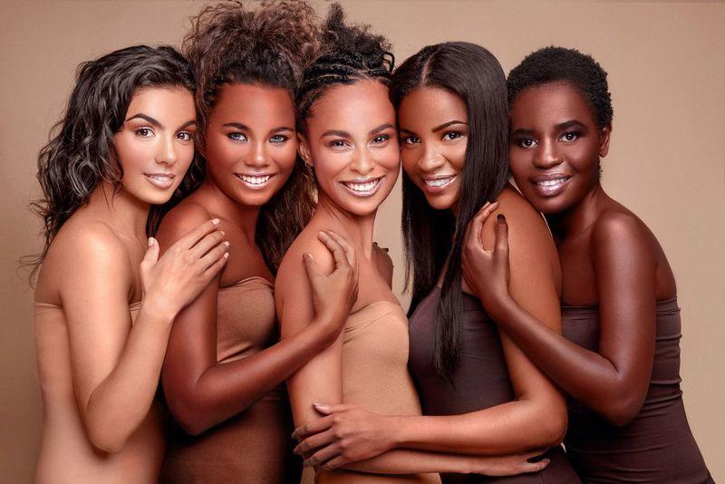 Complexion-Matching Hosiery Retailers  Nude Hosiery-4091