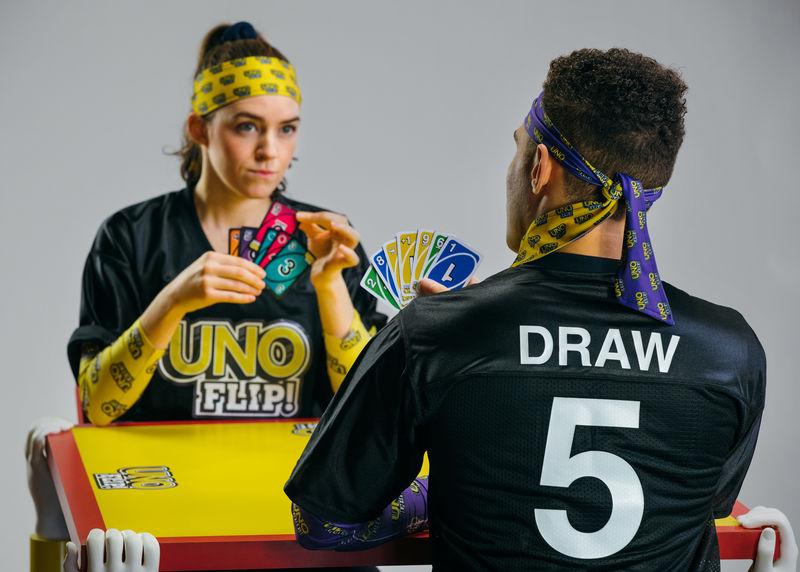 Reversible Number Card Games