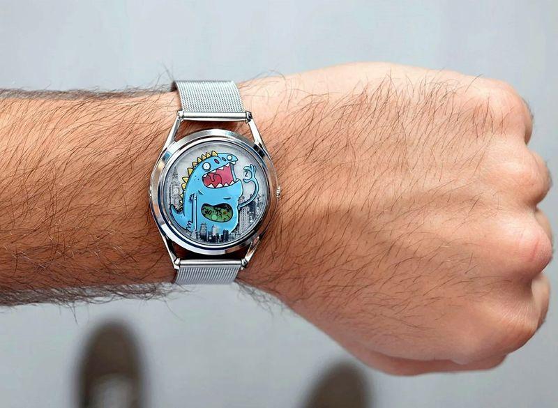 Monstrous Cartoon Timepieces